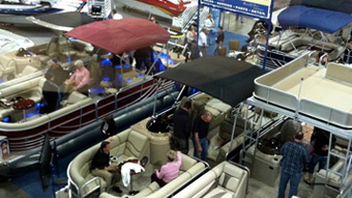 #8 Trade Show & Convention Produced by the Southern California Marine Association at the Los Angeles Convention Center, the Los Angeles Boat Show is among the longest-running boat shows in the country, now in its 55th consecutive year. The 2012 show saw a 10 percent bump in attendance. Next: February 7-10, 2013