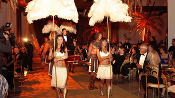 #3 Benefit The California Science Center's Discovery Ball celebrated its 14th go with a Cleopatra theme, offering a sneak peek of the exhibition surrounding the Egyptian pharaoh's life. Christina Sion heads up the detail-minded event annually. Next: March 9, 2013