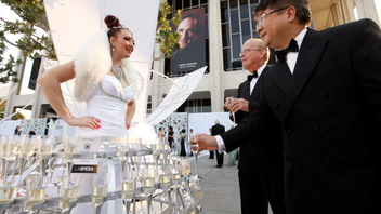 #9 Benefit Los Angeles Opera season-opening celebration will have an alfresco setting on Music Center Plaza, with an accompanying performance of Two Foscari starring Plácido Domingo and conducted by James Conlon. Next: September 15, 2012