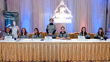 #23 Benefit Professional athletes help make the sports-theme gala—last year with the motif 'Make a Muscle, Make a Difference'—a success, drawing 300 guests and raising $247,000. Next: October 23, 2012