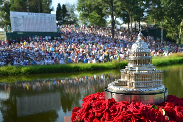 #2 Sports Event (new to the list) The AT&T National golf tournament, which benefits the Tiger Woods Foundation and local youth organizations, returned to Washington after spending two years in the Philadelphia area while the course was renovated, drawing more than 135,000 spectators despite being closed to fans for an entire day because of bad weather. The tournament also launched the District on the Green party Sunday in the clubhouse and veranda, where guests could watch action on the 18th green, including Woods's win. Next: June 24-30, 2013