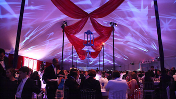 #10 Benefit This double event—which includes the only gala to take place on the National Mall—raised more than $2 million for the redesign and restoration of the historic lawn. Next: Spring 2013