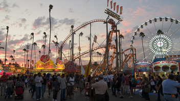 #1 Festival & Fair L.A. County Fair offers live entertainment, rides, games, and vendors selling food and crafts. In 2011, attendance surpassed projections and hit 1,491,123, making it the second highest-attended fair in the event's 89-year history. Next: August 31-September 30, 2012