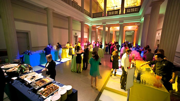 #28 Benefit (new to the list) The fifth annual Artini cocktail fund-raiser from the Corcoran Gallery of Art's 1869 Society attracted a sold-out crowd of 750 despite a rise in prices for general admission and V.I.P. tickets. Next: March 30, 2013