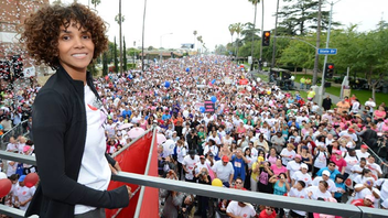 #7 Parade, Walk & Holiday Event Entertainment Industry Foundation Revlon Run/Walk for Women draws about 40,000 runners and walkers who cross the finish line inside the Los Angeles Memorial Coliseum to raise money for the fight against women's cancers. Next: May 11, 2013