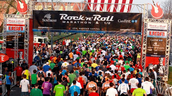 #7 Sports Event The race sold out in its first year rebranded as part of the Rock 'n' Roll Marathon Series with 24,000 runners. Next: March 16, 2013