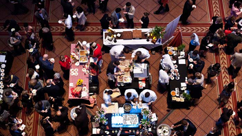 #4 Food, Wine & Restaurant Industry Event This year's event drew 1,600 guests to the National Building Museum, where they sampled food from more than 75 of the city's top chefs, restaurants, and mixologists and raised $150,000 to fight childhood hunger in America. Next: April 8, 2013