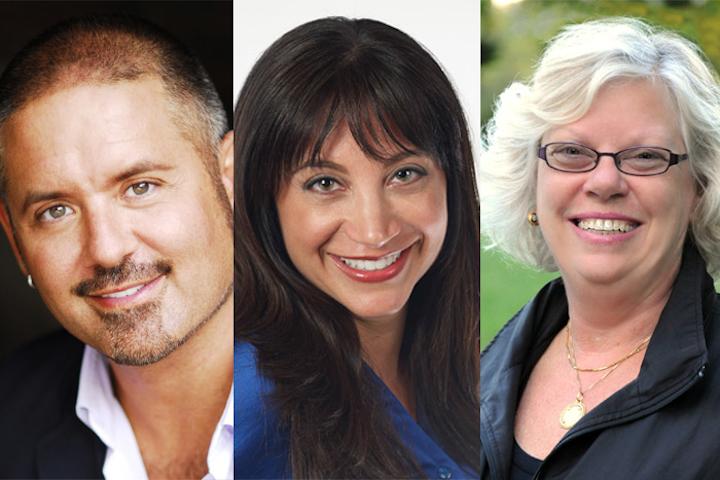 Readers' Choice Award winners (from left to right): Matthew David Hopkins, Alicia Schiro, Dale Shumanski