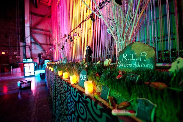 Addams Family Halloween Decorating Ideas from img.bizbash.com