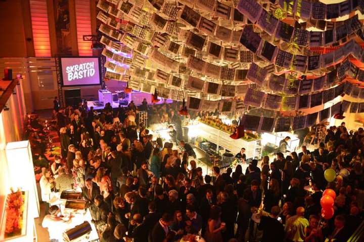 DX Intersection replaced the DX Black and White gala this year and drew a record 1,500 guests to the Design Exchange museum.