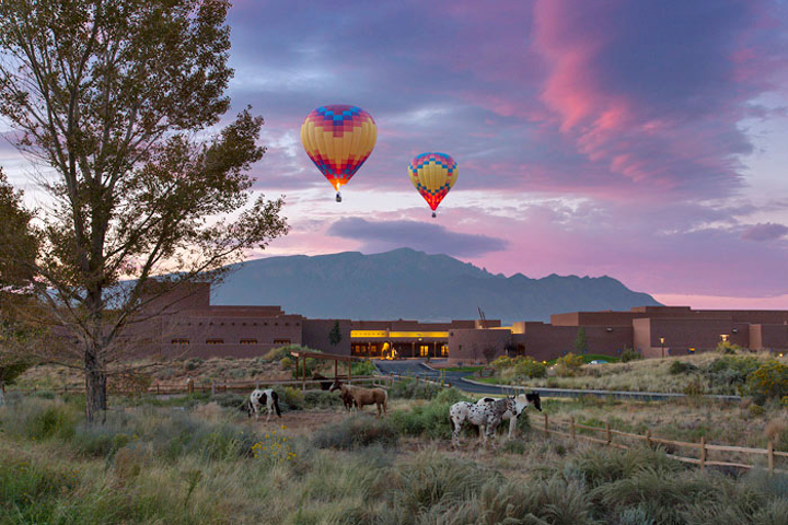 The Hyatt Regency Tamaya Resort and Spa in New Mexico has partnered with the Tamaya Horse Rehabilitation Program to offer a community service program to combat horse abandonment and neglect.