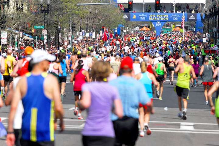 Organizers of marathons and other large public events are considering increased security measures following the bombings at the Boston Marathon.