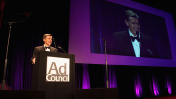#3 Advertising Industry Event Marking its 60th outing this year, the Ad Council's prestigious award ceremony attracts 1,110 corporate executives and other high-level advertising insiders. Next: November 20, 2013