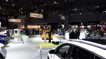 #1 Trade Show & Convention With more than a million attendees and 1,000 new vehicles on display, the Jacob K. Javits Convention Center's car show is consistently one of the year's more talked-about events. Next: Spring 2014