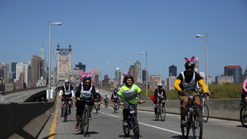 #6 Sports Event (new to the list) As cycling grows in popularity among New Yorkers, so does this oversize road race, expanding to 32,000 cyclists this year. Next: Spring 2014