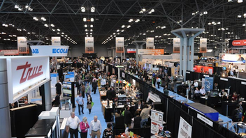 #2 Hospitality Industry Event About 18,000 professionals from the lodging, dining, and travel industries are expected at Hospitality Media Group's trade show this fall. Next: November 9-12, 2013