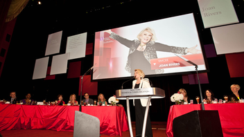 #7 Media Event Hosted by Joan Rivers in 2013, the long-running luncheon pays homage to women in media. Next: April 2014