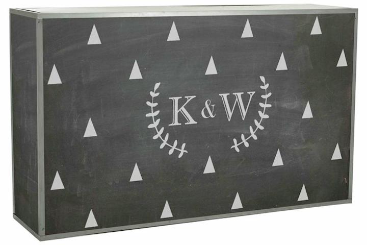 12 Surprising Ideas for Chalkboard Decor   BizBash