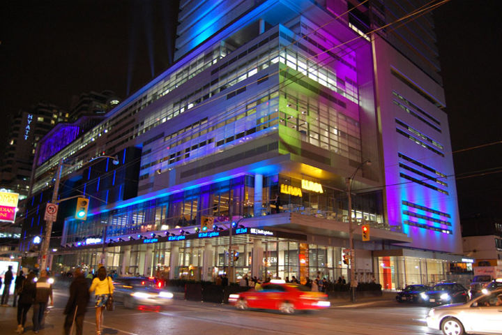 The TIFF Bell Lightbox has been the festival's home base since 2010.