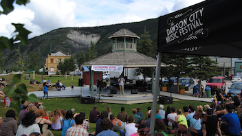 #10 Music Event Dawson City, Yukon Known as Canada's 'tiny, perfect festival,' the 35-year-old music event has built a reputation for intimacy, uniqueness, production quality, and great hospitality. The three-day festival presents rock, blues, world, jazz, and children's music under the midnight sun. Next: July 2014
