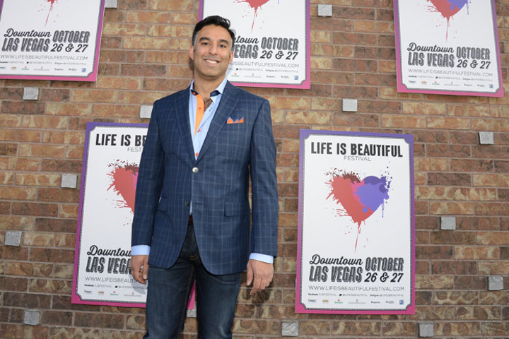 Life is Beautiful Festival founder Rehan Choudhry.