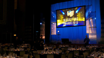 #2 Advertising & Marketing Event Toronto The elegant, sit-down gala dinner sponsored by Marketing magazine honors the finest creative minds in Canada at the historical Carlu. More than 1,500 entrants compete in 12 categories, including 160 in the 91-year-old competition's newest category: design. Next: May 2014