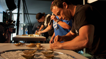 #9 Food, Wine & Hospitality Event Charlottetown Competitive oyster shuckers, celebrity chefs, music lovers, and seafood fans celebrate Prince Edward Island's famous shellfish industry for four days every September. There is $24,000 in prize money for shuckers and chefs, a gala dinner, and Celtic music. Next: September 2014