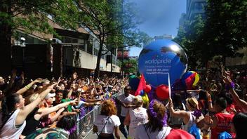 #1 Festival & Parade (up from #2) Toronto hosts WorldPride in 2014, making it the first North American site for the international celebration, coinciding with the city's usually uproarious Pride Week. Next: June 20-29, 2014