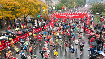 #5 Sports Event (new to the list) More than 25,000 runners from more than 60 countries are expected to participate this year in the city's only fall marathon, where Canadian Olympian Reid Coolsaet is set to break the Canadian record. Next: October 20, 2013