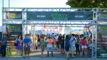 #10 Food, Wine & Hospitality Industry Event (up from #12) The Asian night market, hosted by T&T Supermarket at its waterfront location, draws an urban foodie crowd. Entertainment, rides, and carnival games round out the offerings. Next: Summer 2014