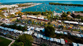 #5 Art & Design Event The 50th anniversary edition of the wide-ranging art fair attracted 100,000 people to Coconut Grove this past Presidents' Day weekend. Next: February 15-17, 2014