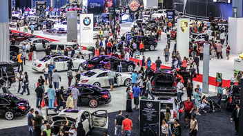 """#2 Trade Event, Expo & Convention Formerly the South Florida International Auto Show, the 43-year-old event revamped its name and look in 2012, with new features like the """"Topless in Miami"""" outdoor convertible showcase. After a 16 percent increase in attendance, the show was set to return with more than 40 manufacturers exhibiting 1,000 car models this year. Next: November 8-17, 2013"""