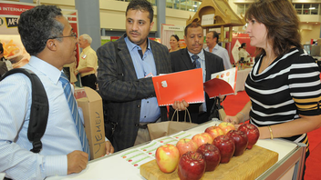 #12 Trade Event, Expo & Convention More than 500 exhibitors from 28 different countries showcased new food products and services for 9,000 food and beverage industry buyers in 2013. Next: Fall 2014