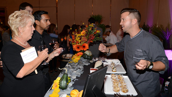 #18 Benefit (up from #19) A comprehensive roster of Miami chefs appeared at the 24th edition of the food-focused fund-raising extravaganza on November 6. Next: Fall 2014