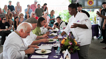 #2 Food & Restaurant Industry Event (up from #3) Florida's smelliest shindig marks its 15th year in 2014. The affair offers cook-offs, musical acts, and other attractions amidst a maze of everything from garlic hot sauce to garlic ice cream. Next: February 7-9, 2014