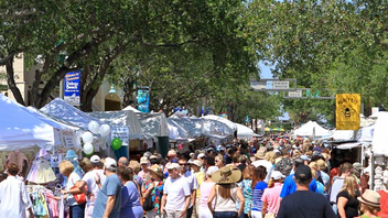 #3 Parade & Festival Showcasing arts, crafts, and food vendors along 12 blocks of downtown Delray, the famously eclectic fest attracts some 250,000 attendees. Next: April 25-27, 2014
