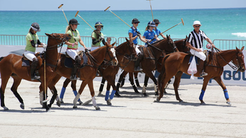 #5 Sports Event The ninth annual Polo World Cup changed title sponsors, adding La Martina in 2013. The event welcomed fans to the sands of South Beach for three days of men's and women's matches, along with a fashion show and plenty of parties. Next: April 23-27, 2014