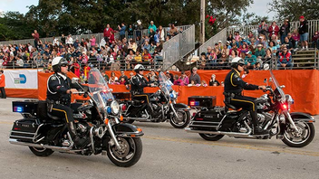 #13 Parade & Festival The 65-year-old tradition brings several thousand young people to downtown Coral Gables for a showy spectacle that kicks off the events leading up to college football's Orange Bowl. Next: December 1, 2013