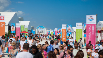 #1 Food & Restaurant Industry Event Consistently the most buzzed-about foodie festival in the country, the annual gathering of 60,000 chefs, Food Network stars, and gourmands always includes an impressive array of brand activations and insiders parties. Next: February 20-23, 2014