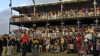 #4 Sports Event Tiger Woods capped his comeback to golf's upper echelon with a 2013 win at the P.G.A. Tour event, which invites the top 50 ranked players to Trump National Doral. Next: March 6-9, 2014
