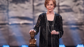 #5 Art & Entertainment Event Carol Burnett received this year's Kennedy Center Mark Twain Prize for American Humor at an event featuring tributes by comedians such as Tina Fey, a past recipient of the award. A broadcast from the evening later aired on PBS. Next: Fall 2014