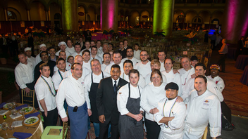 #11 Benefit More than 40 chefs contribute dishes at the gala, which this year raised $500,000 from its 750 guests. Honorary chef chair Adam Sobel of Bourbon Steak hosted the event. Next: February 25, 2014