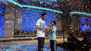 #5 Literary & Publishing Event (up from #6) Winners of local spelling bees converge on Washington each spring for the national contest, the final rounds for which are televised by ESPN. For the first year, contestants had to prove their knowledge of vocabulary in a preliminary-round test. The winning word this year for Queens teenager Arvind Mahankali was knaidel, a dumpling that goes into matzo ball soup. Next: May 25-31, 2014