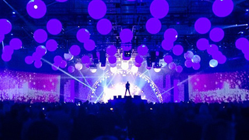18. In November, the Long Beach Arena debuted its new Pacific Ballroom with an event co-hosted by BizBash. The party in Long Beach, California, included a dramatic kabuki drop and entertainment from the laser performer Laserman. Click to Like, Comment, or Follow Us on Instagram