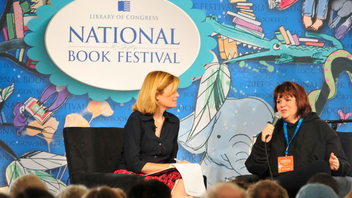 #1 Literary & Publishing Event The 13th annual Library of Congress National Book Festival offered programming from more than 100 authors. This year's theme was 'Books That Shaped the World,' and it's estimated that around 200,000 people attend the free event. Next: September 2014