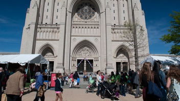 #9 Trade Show & Convention Daily attendance for the flower show reaches about 10,000 people. The benefit for the cathedral's gardens and grounds will mark its 75th year in 2014. Next: May 2-3, 2014