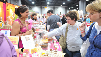 #2 Food, Wine & Restaurant Industry Event More than 20,000 people attended the massive show, which had wares from 300 vendors. Activities included the National Beef Cookoff, a Grand Tasting, and presentations from notable chefs including Hugh Acheson. Next: November 2014