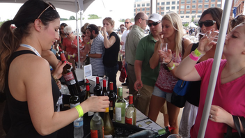 #5 Food, Wine & Restaurant Industry Event Taking place in tents along the waterfront and pier of National Harbor, the wine and food festival marked its sixth year in 2013. Next: May 3-4, 2014