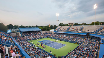 #3 Sports Event For the second year in a row the tennis tournament grew with more than 69,000 people attending—up 9,000 from last year—and 20 sponsors, including eight new ones, showcasing their brands on site. Next: July 26-August 3, 2014