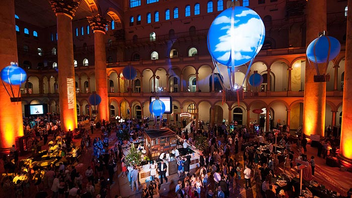 #2 Literary & Publishing Event Nearly 2,000 people headed to the National Building Museum for the AT&T-sponsored Best of Washington event hosted by Washingtonian magazine. The annual fete pairs with the editorial feature of the same name that spotlights the best restaurants and businesses around the city as determined by the magazine's writers and editors. This year's decor featured a vintage travel theme. Next: July 16, 2014